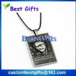 Antique finish 3d dog tag