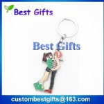 promotional gifts custom keychain for lovers