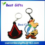 Soft pvc keychain, pvc keychain for promotion