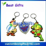Factory price cheap pvc keychain, pvc keychain for souvenir