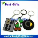 wholesale custom pvc keychain, pvc keychain for promotional gifts