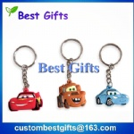 Custom car shaped keychain,pvc car keychain