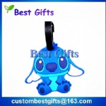 Custom shape pvc luggage tag, luggage tag with custom design